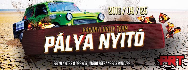 Amatőr rally találkozó – 2016. szeptember 25.