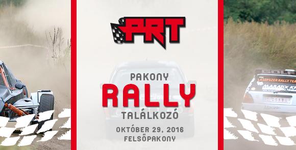 Amatőr rally találkozó – 2016. október 29.